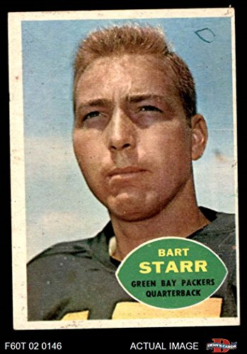 1960 Topps # 51 Bart Starr Green Bay Packers (Football Card) Dean's Cards 2 - GOOD Packers