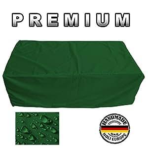 Muebles de Jardín Premium Funda Protectora/mesa de jardín Lona B 90cm x t 80cm x h 140cm abeto verde