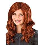 Rubies Costume Captain America-Civil War Kid's Black Widow Wig