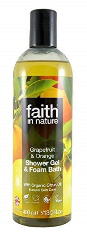 Faith in Nature Grapefruit and Orange Body Wash Faith Products Ltd FAITH-GOFM