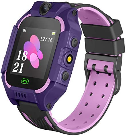 Kids Smartwatch Phone Boys Girls – Game Smart Watch with Call Games Camera Alarm 1.54 inch Touch Screen Wristwatch Cellphone Watch for Students ...