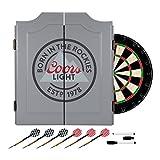 Trademark Gameroom Coors Light Dartboard Set