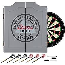 Trademark Games Coors Light Dartboard Set