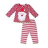 Mud Kingdom Baby Girls Christmas Clothes Sets Santa Claus Costume...