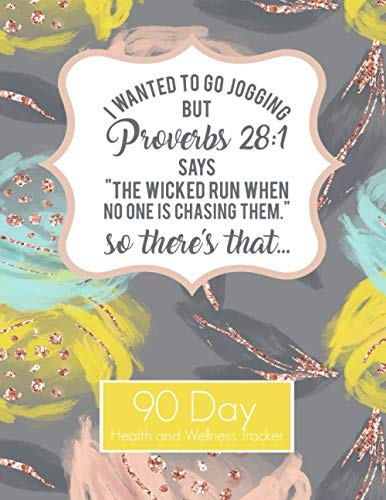 Proverbs 28:1 I wanted to go Jogging Funny