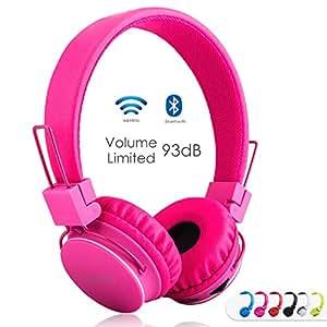 Amazon.com: Kids Bluetooth Headphones Foldable Volume