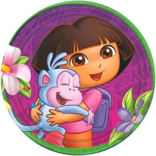 Dora the Explorer Dessert Plates 8 Ct.]()