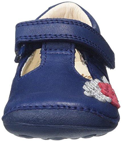 Clarks Mädchen Tiny Blossom Geschlossene Sandalen Blau (Blue Leather)