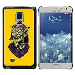 TECHCASE**Cubierta de la caja de protección la piel dura para el ** Samsung Galaxy Mega 5.8 9150 9152 ** Evil Gollum