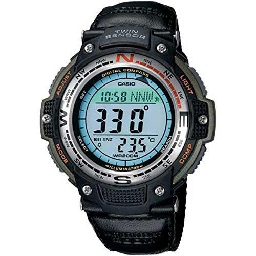 (Casio Mens Digital Compass Twin-Sensor Sport Watch - SGW100B-3V)