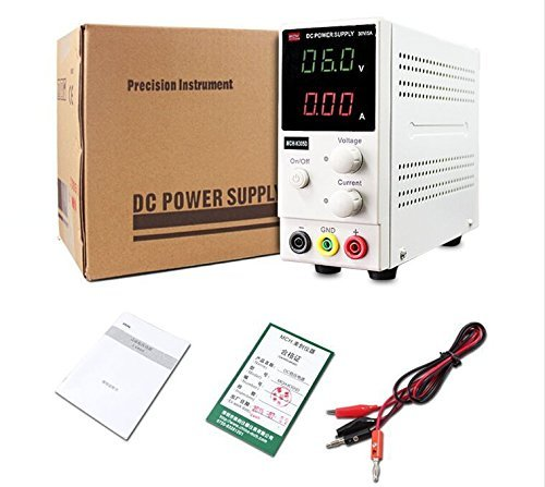 New MCH-K305D Mini Switching Regulated Adjustable DC Power Supply SMPS Single Channel 30V 5A Variable MCH K305D by Generic