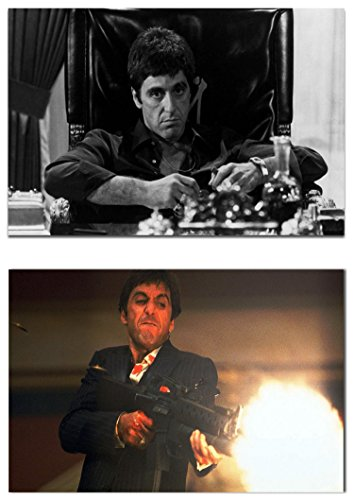 Scarface Tony Montana Poster Pack A3 Size 2 Set