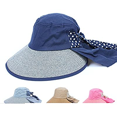 Hyunong Sun hat female sun protection summer summer sun hat beach hat UV protection hat electric bicycle riding big hat