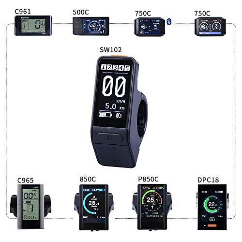 BAFANG Mid Drive Display Mid Motor Control Panel 750C 850C P850C C961 C965 C18 500C SW102 Mid Drive System (SW102)