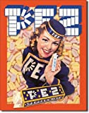 Tin Sign PEZ - PEZ Girl
