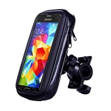 ArtMark Universal Bicycle Waterproof Phone Case Bag Bike Motorcycle Handle Bar Mobile Phone Stand Holder Mount For iphone 7 6 6S Plus