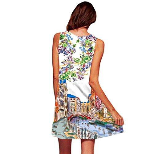 Robe Fille Soire Manche Mini sans Covermason Jupon Tunique de Robe Robe de Robe de Line Courte 20 Jupe Mini A Plage Imprim Robe Court Femme Crayon Awx6qpqEX