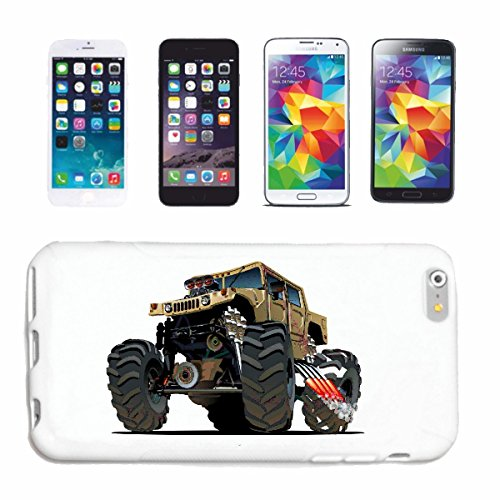"cas de téléphone iPhone 7 ""OFF ROAD 4X4 MONSTER TRUCK 4 × 4 LANDROVER BUGGY AUTOCROSS Stockcar RACE"" Hard Case Cover Téléphone Covers Smart Cover pour Apple iPhone en blanc"