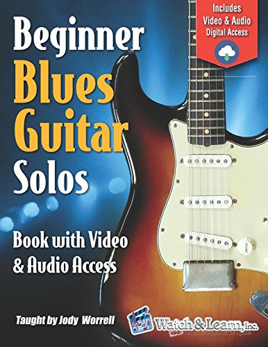 Beginner Blues Guitar Solos Book - Video & Audio Access Easy Blues Guitar Solos