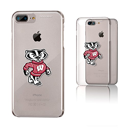 (Wisconsin Badgers Clear Case for the iPhone 6+/6S+/7+/8+ NCAA)