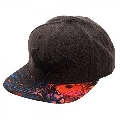 612c82c8 Batman DC Comics Arkham Logo Black Snapback Hat - sb4nk3btm < Shops ...