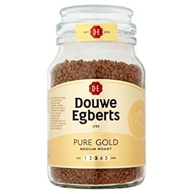 Douwe Egberts Pure Gold Medium Roast Coffee 190g Amazon