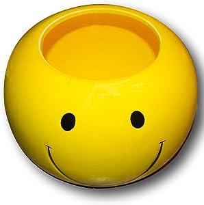 Adorable Smiley Face/Happy Face Planter/Candy Dish