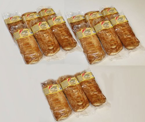 BON Appetit Large Gourmet Cheese Croissant Danishes, 12 Pieces