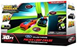 Max Traxxx R/C Tracer Racers High Speed Remote Control 'Police Loop' Track Set with Officially Licensed Ford Mustang Car