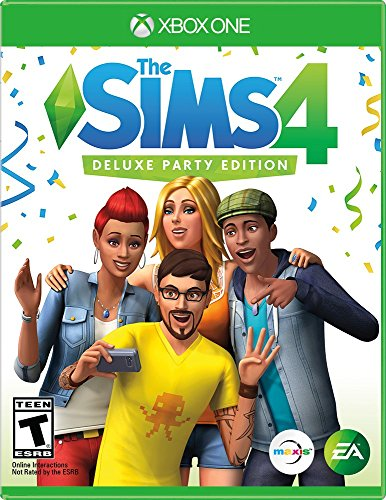 The Sims 4 Deluxe Party Edition - Xbox One (Pack 2 Christmas Sims Party)