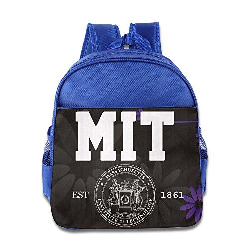 (Massachusetts Institute Of Technology Mit Logo Kids School Blue Backpack Bag )