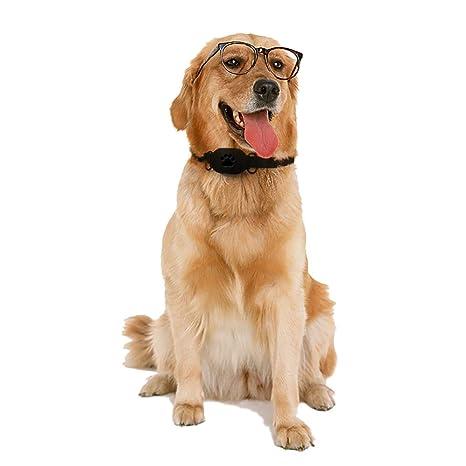 QNMM Mini Perro rastreador de Mascotas GPS Localizador de Cuello A Prueba de Agua Anti-