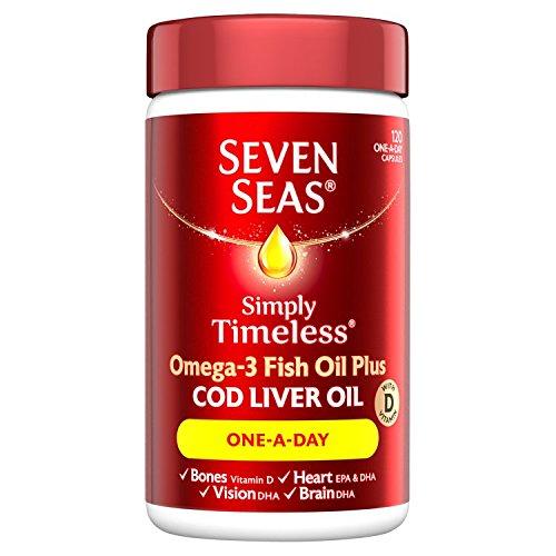 Pure Cod Liver Oil 120 capsules (Pure Cod Liver Oil)