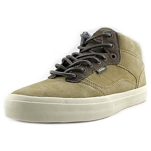 Vans Bedford Craft Khaki/Antique Mid Top Sneakers Mens (6.5 Mens) (Van Bedford Shoe)
