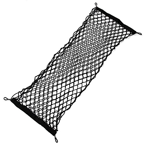 Honda Civic Cargo (JessicaAlba Envelope Style Trunk Cargo Net for Honda Accord Civic CR-V CR-Z Crosstour Fit Odyssey Pilot Element)