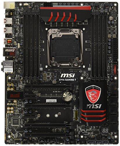 MSI Extreme Gaming Intel X99 LGA 2011 DDR4 USB 3.1