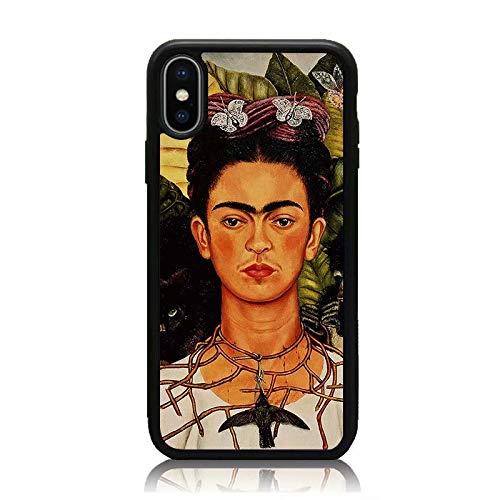 iPhone XR Case, [Frida Kahlo Self Portrait Series] Print Soft TPU ...