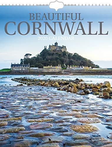 Beautiful Cornwall 2020 Wall Calendar - Postal Envelope Included