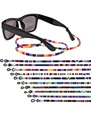 EAONE 10 Pcs Glasses Strap Glasses Chain Retainer Sunglass Strap Eyeglass Holder Strap Glass Cord Lanyard Unisex Safety Glasses String (Colorful)