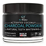 Natural Activated Charcoal Teeth Whitening Powder - Made in USA -3.5Oz- High Quality Coconut Charcoal - Safe Effective Tooth Whitener -Better than Strips, Kit, Gel, Whitening Pen, Whitening Toothpaste