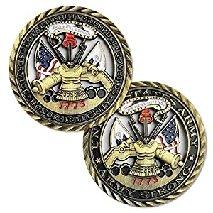 U.S. Army Core Values Challenge Coin by TPD Industries - A Veteran Business