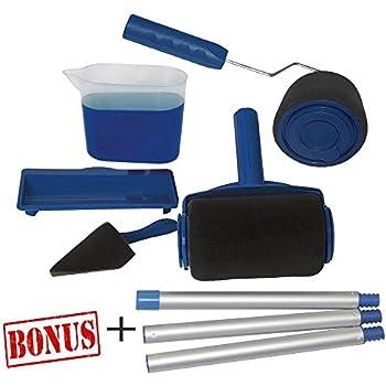 qt paint runner pro roller brush handle tool flocked edger