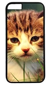 Cute Cat Pet Case for iPhone 6 PC Black by Cases & Mousepads