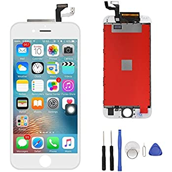 iPhone 6s Screen Replacement,iPhone 6s LCD Display&Touch Screen Replacement Digitizer Assembly for iPhone 6s White(4.7inch)