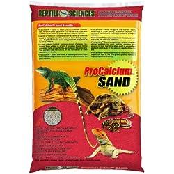 Reptile Sciences Terrarium Sand, 10-Pound, Red