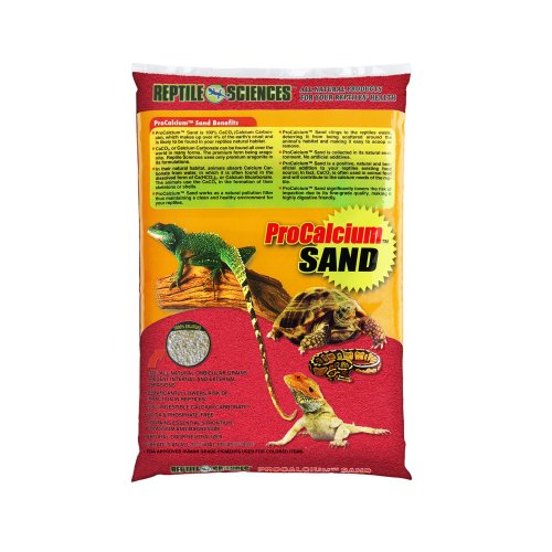 Reptile Sciences Terrarium Sand, 10-Pound, Red by Reptile Sciences