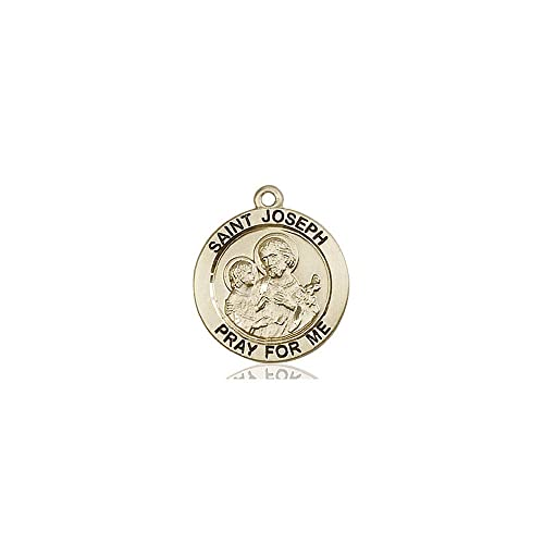 DiamondJewelryNY 14kt Gold Filled St Christopher Pendant