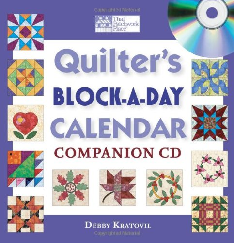 Quilter's Block-a-Day Calendar Companion CD -
