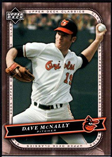 Baseball MLB 2005 Upper Deck Classics #24 Dave McNally Orioles ()