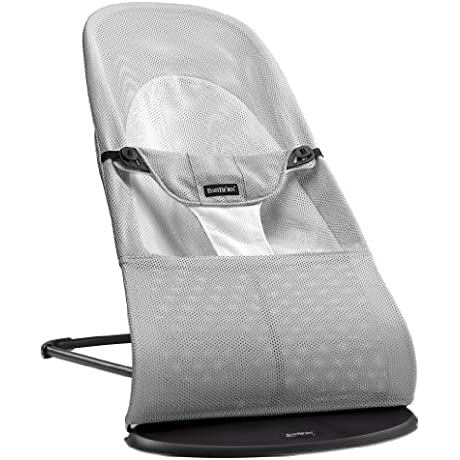 Babybj Rn Guaranteed Bouncer Balance Soft Mesh White